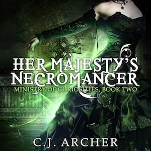 Her Majesty's Necromancer audiobook by CJ Archer