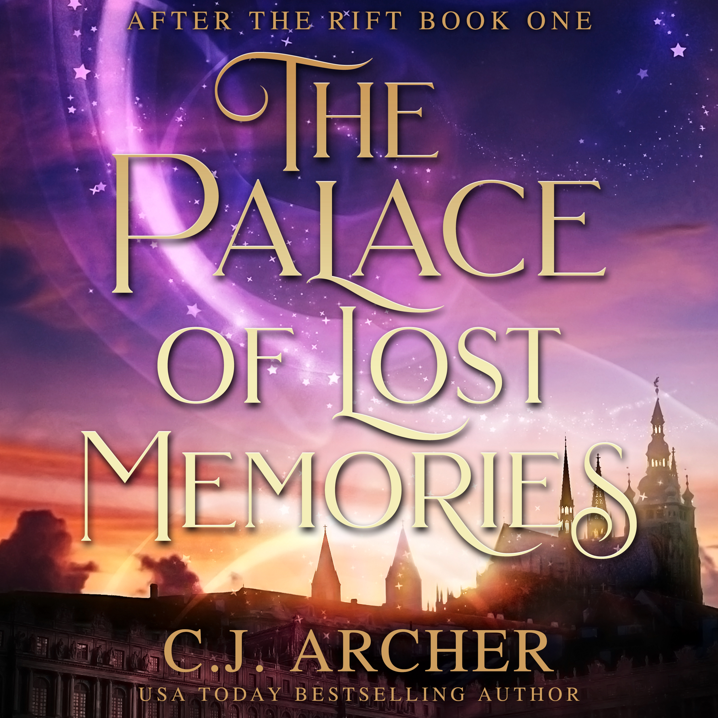 The Palace of Lost Memories audiobook by CJ Archer