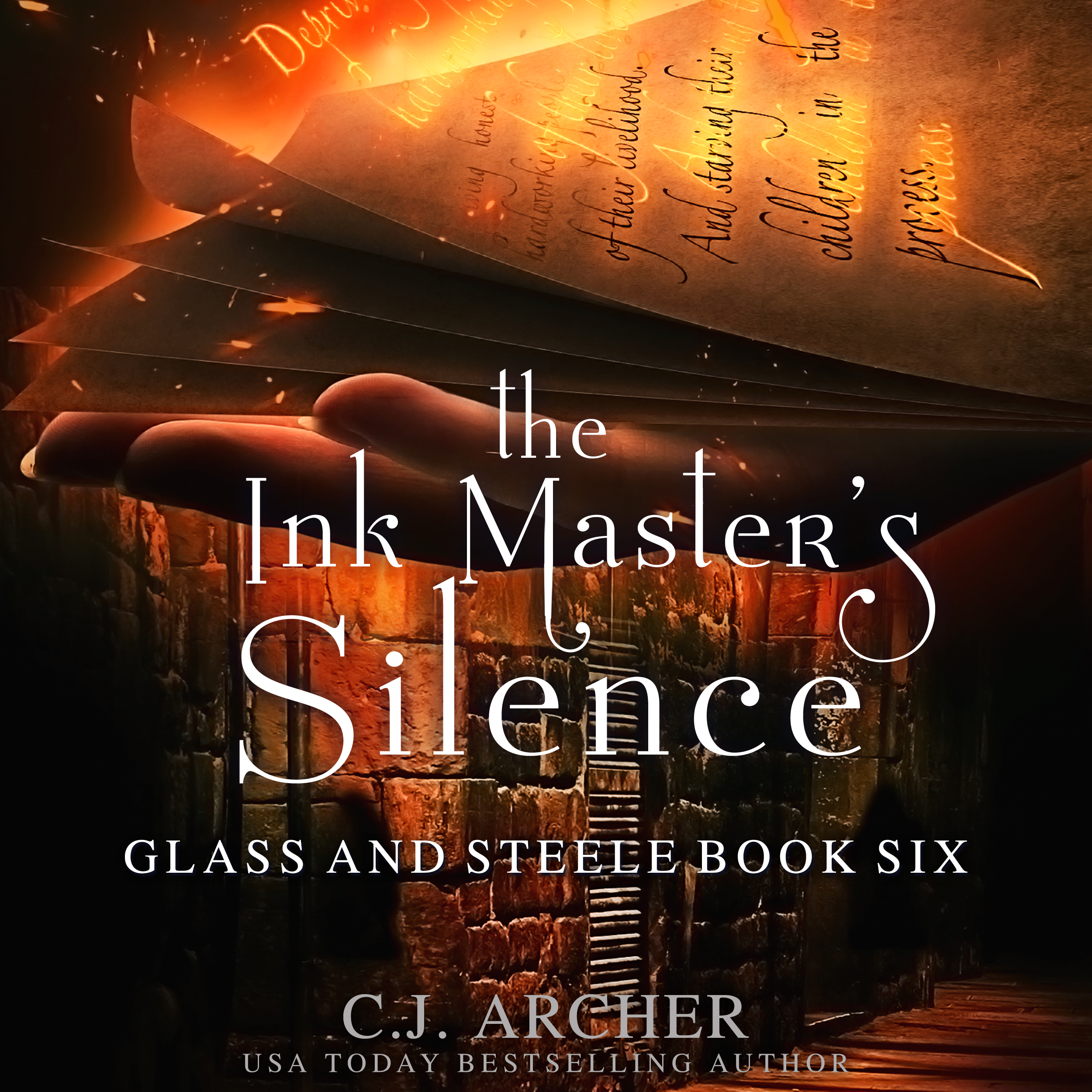 The Ink Master's Silence audiobook by CJ Archer