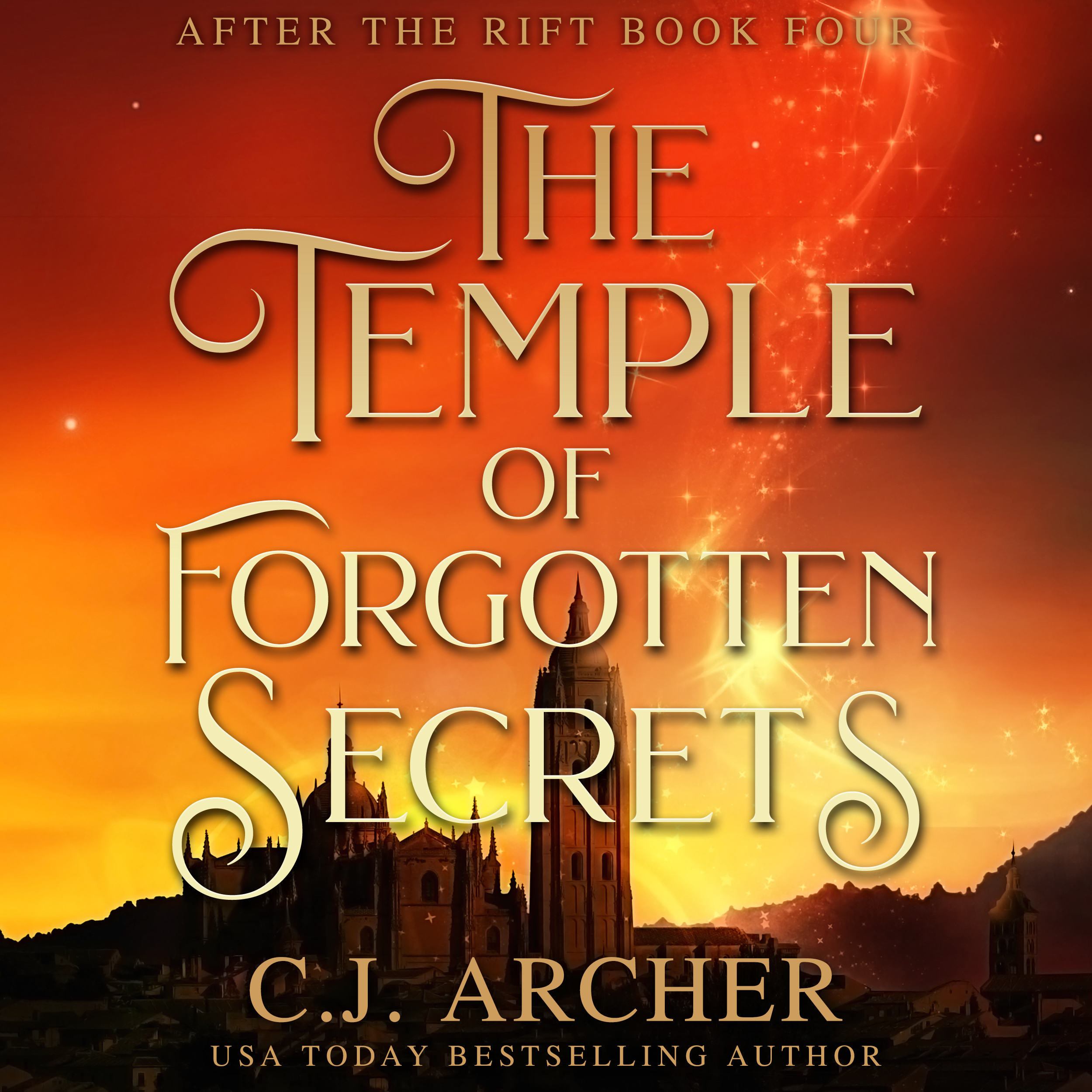 The Temple of Forgotten Secrets audiobook by CJ Archer